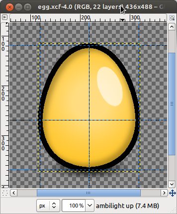 The egg is drawn...